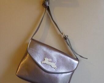 Rabbit Silver Handbag