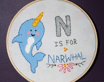 N is for Narwhal Sampler