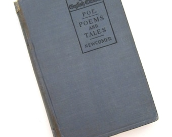 EDGAR ALLAN POE Poems and Tales Lake English Classics 1898