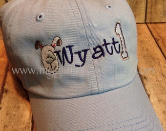 CUSTOM Toddler/Child Baseball Cap Hat - You work with me to make up the design you want!