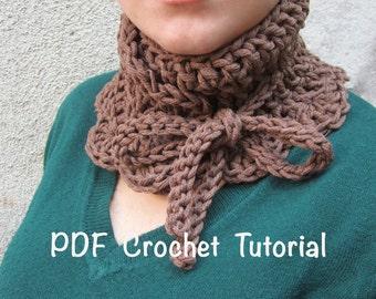 Neck warmer crochet pattern,neck warmer tutorial,crochet cowl pattern,neck warmer pdf pattern,adjustable neck warmer,giada cortellini