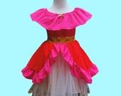 Elena of Avalor dress, princess Elena of Avalor costume, Elena birthday, princess Elena party, girls Halloween costume