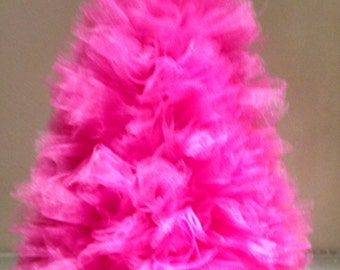 HOT PINK Tulle Tree