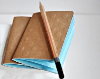 Blank Books {2} Pocket Notebooks | Kraft Journals | Kraft Notebooks | Mothers Day | Gift under 10 | Gift for Her | Best Friend or New Mom