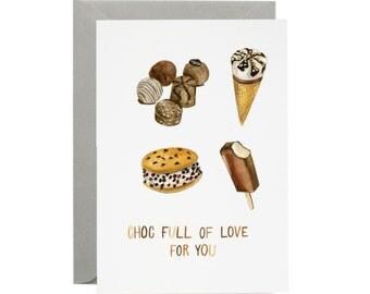 Chocolate Love Card //SALE//