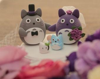 cake topper---Custom Order Deposit for the lovely Wedding Cake Topper (K105)