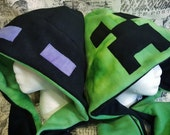 Reversible Creeper Hood with Scarf
