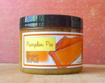 Pumpkin Pie Sugar Scrub - 8 oz - Limited Edition Fall & Holiday Scent