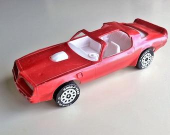 Gay Toys Inc. Red Trans Am Car/Walled lake, MI/Vintage Toy Car/Vintage Plastic Car/Red Trans Am/Vintage Gay Toys Car