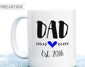 First Fathers Day Gift from Baby New Dad Gift Dad Established Coffee Mug Fathers Day from Wife Gift for Father New Daddy Mug- #CM550