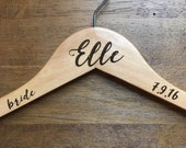 Personalized Hangers - Wooden, Wedding Party, Bride, Bridesmaids, Matron of Honor