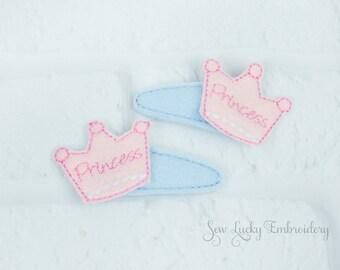 Princess Crown Clippy Set