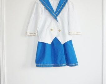 Vintage Girl's Nautical Set