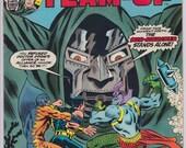 Issue 1 1975 Marvel Super-Villain Team-up Comic Book