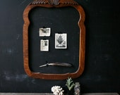 Antique Frame Rustic Home Decor Carved Wood Frame Vintage From Nowvintage on Etsy