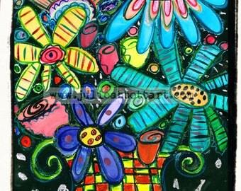 "Bouquet - New!  ""Mini-s"" by Julie Abbott Art"