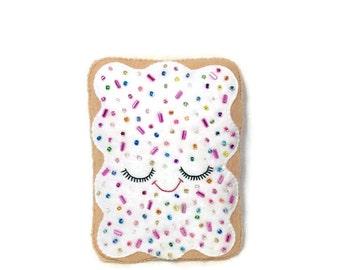 Pop Tart - Pop Tart Plush - Cute Felt food - Kawaii Decor