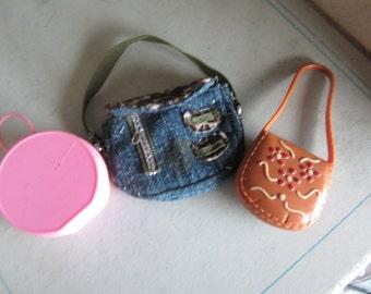 Three Miniature Pocketbooks. Dollhouse Clothing. #247