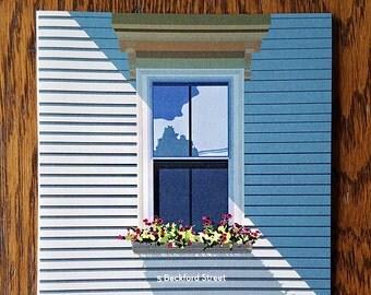 Windows of Salem: 5 Beckford Street
