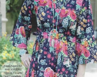 Kaylee Tunic Pattern by Serendipity Studio - tissue paper pattern