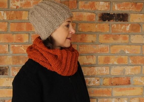 Knitting Pattern Knit Hat Patterns Rib Knitted by KimberleesKorner