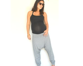 Harem pants, Harem  plus size pants, Yoga harem  pants, Women Harem  pants, Plus size clothes, Harem boho pants