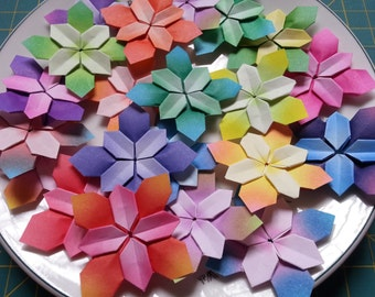 Origami hydrangea - assorted colors