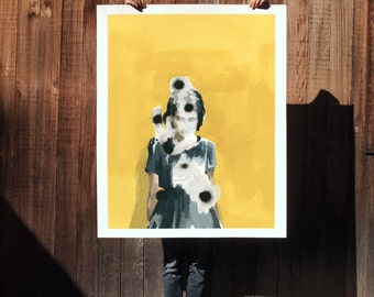 Suspect Notion .  extra large wall art . giclee print