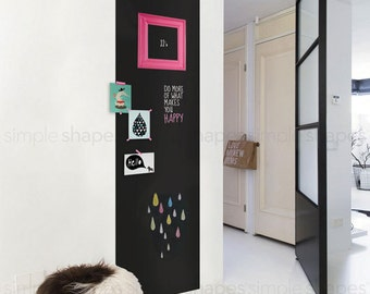Chalkboard Wall Decal Large Chalkboard Sticker Rectangular Chalkboard Decal Chalkboard Door Decal & Chalkboard door | Etsy Pezcame.Com