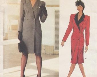Vogue 1237 / Paris Original / Vintage Designer Sewing Pattern By Yves Saint Laurent / Dress / Size 12 Bust 34