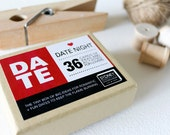 Date Night Cards ~ Gift Box with Big Ideas for fun + romantic date nights ~ Date Night Jar ~ Valentine's Day, Anniversary, Birthday, Wedding