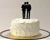 Gay Wedding Cake Topper Same Sex Cake Topper Gay Cake Topper Gay silhouette Homosexual Wedding Cake Topper For Men Gift