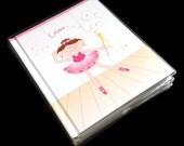 Ballerina girls journal notebook diary dance recital gifts kids journal for little girls doodle pad ballet themed birthday party favors
