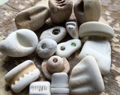 RESERVED FOR PEGGY - Genuine Found Sea Pottery Pieces - Sea Pottery from California