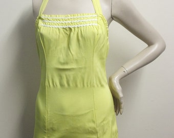 Vintage 1960's Sunshine Yellow Bathing Suit
