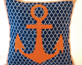 Anchor Needlepoint Kit with Stitch Painted Canvas