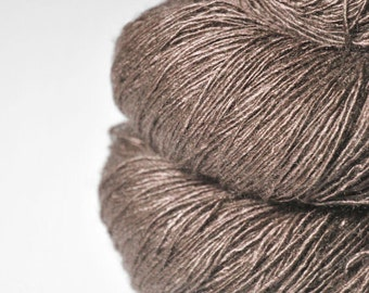 Ex-buzzard - Tussah Silk Fingering Yarn