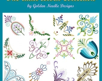 Quilt Block Machine Embroidery Design Collection