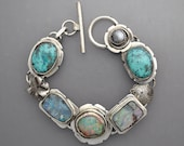 Turquoise with Opals