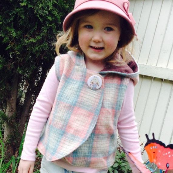 Woollen Vest 6m-6years - Boy or Girl - By LittleKiwisCloset