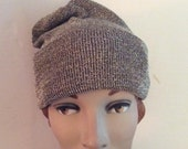 Vintage 1950s Hat Beanie Stretchy Gold & Silver Color Studio Fashions Designed For The Stars