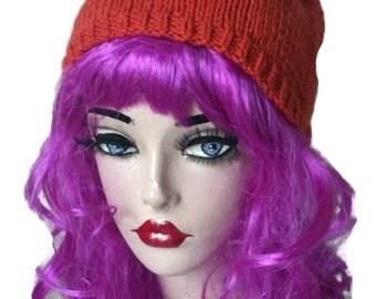Adult Fox Hat Knitted women men baby child  Gift