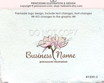 Magnolia flower logo