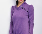 jersey sweatshirt - berry - cuddly sweat