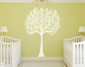 Tree Decal, Nursery Tree Decal, Tree Wall Decal, Family Tree Decal