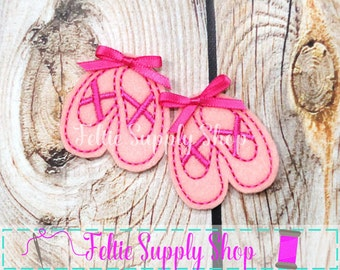 Feltie, Ballet Feltie, Wholesale Feltie, Ballet Slipper Feltie, UNCUT Feltie, Hair Bow Supplies, Planner Clips, Sheet of Felties
