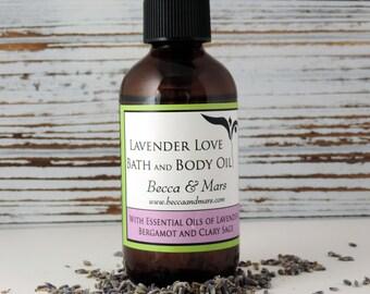 Lavender Love Bath and Body Oil -  Bath Oil