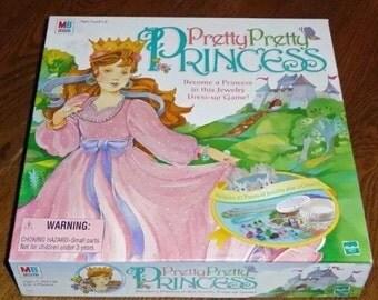 Vintage Pretty Pretty Princess Board Game Complete