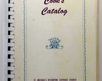 Cook's Catalog St. Michael's Byzantine Catholic Church Farrell Pennsylvania 1960's SC/SB