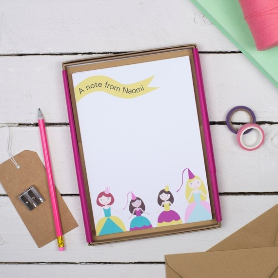 Children 39 S Writing Set Personalised Writing Set By
